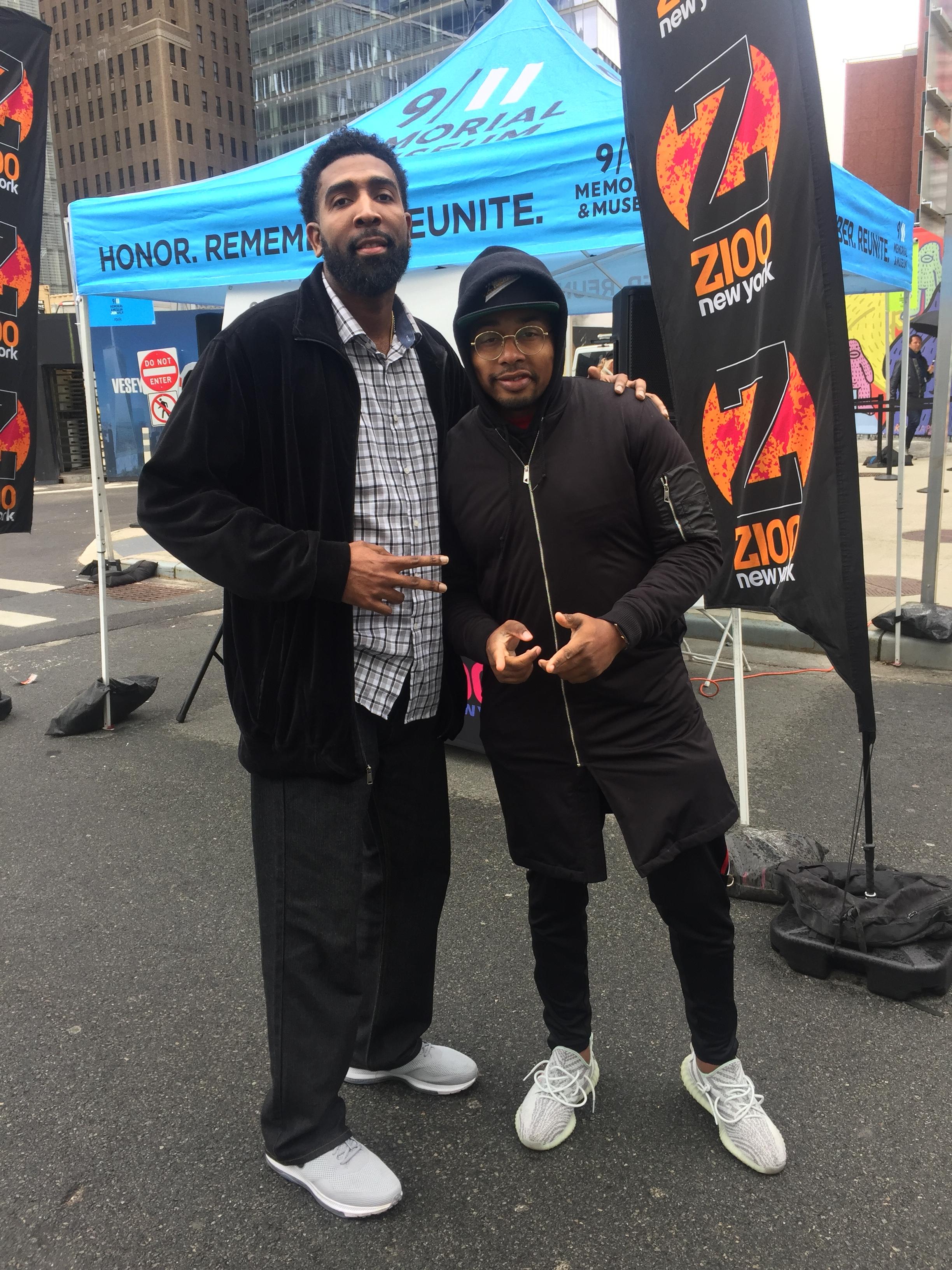 Derrick and DJ Whutever