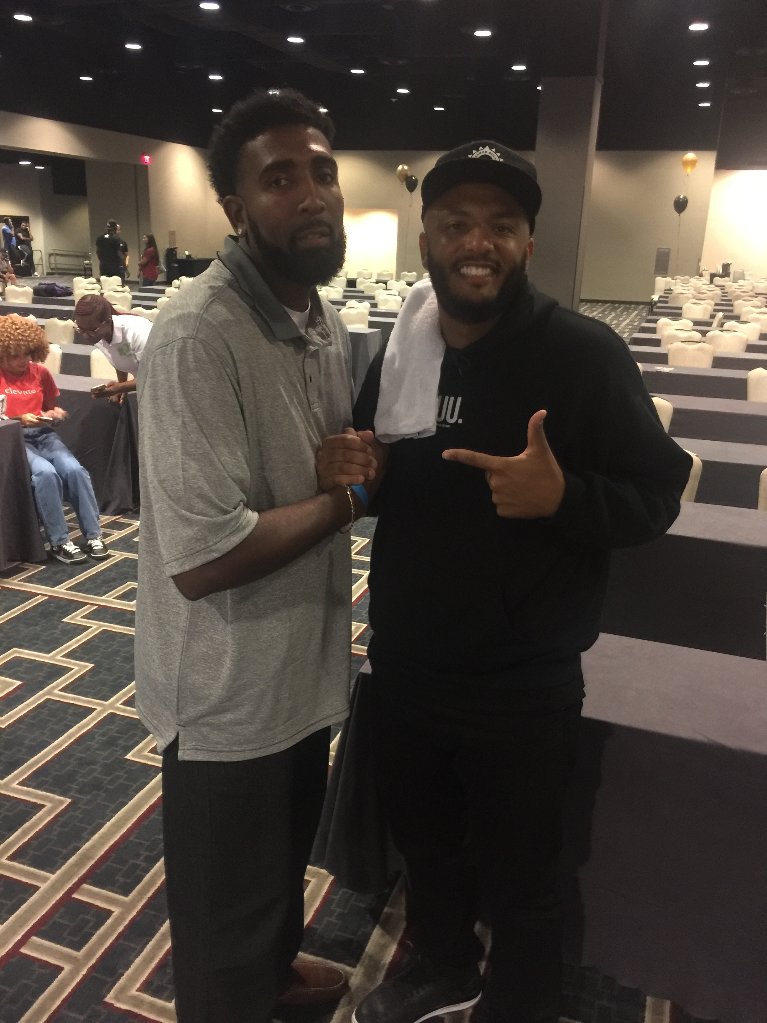 Derrick with CEO of Eric Thomas