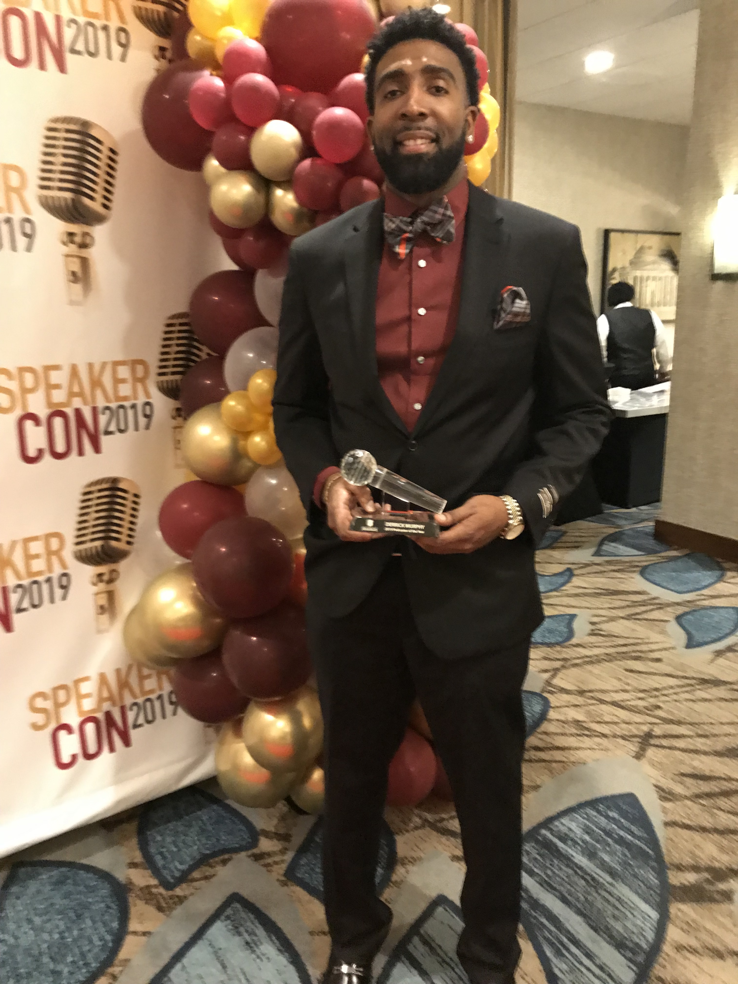 Derrick Murphy - 2019 Podcaster of the Year Recipient