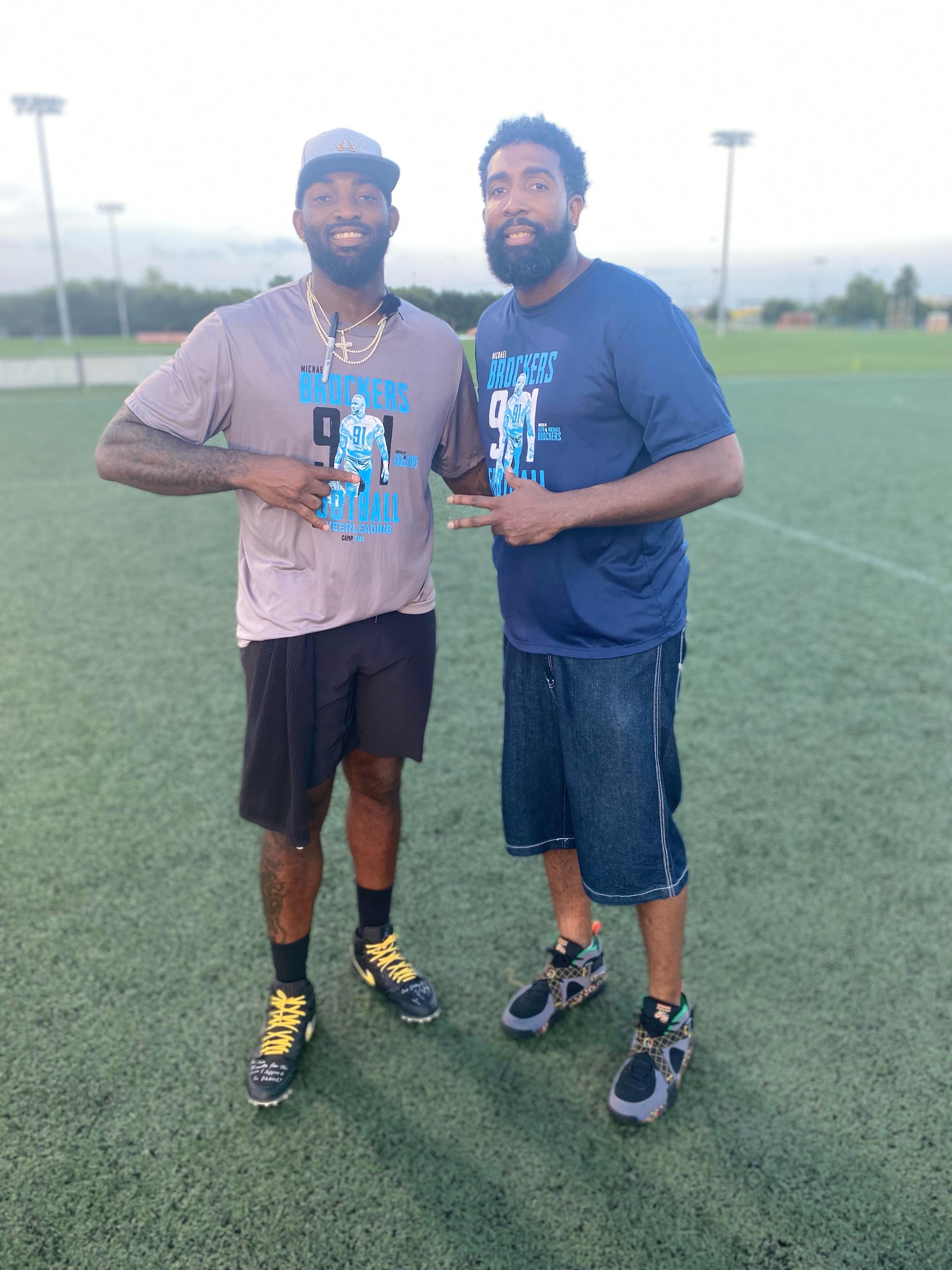 Derrick and Michael Brockers